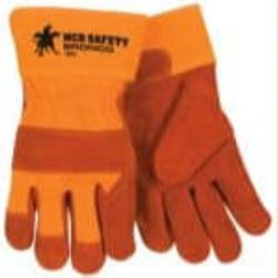 MCR Safety 1680 Cowhide Leather glove - Size: Large