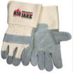 MCR Safety 1712 Cowhide Leather with Double Palm Heat Resistant glove - Size: X-Large