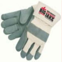 MCR Safety 1715 Cowhide Leather with Double Palm Heat Resistant glove - Size: X-Large