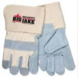 MCR Safety 1716 Cowhide Leather with Double Palm Heat Resistant glove - Size: X-Large
