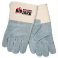 MCR Safety 1718 Cowhide Leather Heat Resistant glove - Size: X-Large