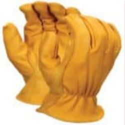 MCR Safety 3620 Goatskin Leather glove - Size: Small