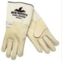 MCR Safety 4900LN Cowhide Leather Mig/Tig glove - Size: Large