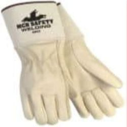 MCR Safety 4902 Cowhide Leather Mig/Tig glove - Size: Large