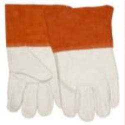MCR Safety 4950LB Cowhide Leather Mig/Tig glove - Size: Large