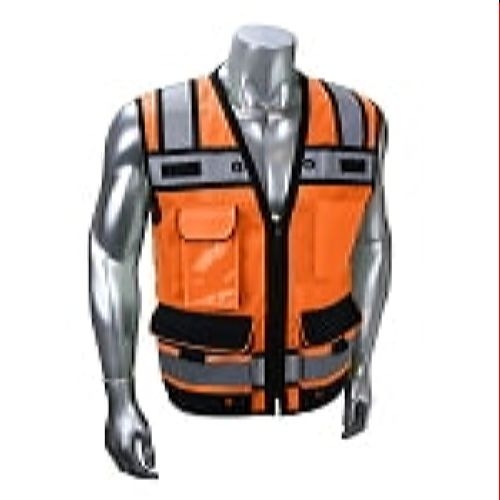 Radians SV65-2ZOM Type R Class 2 Heavy Duty Surveyor with Zipper-Orange