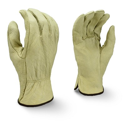 Radians RWG4810 Economy Grade Top Grain Pigskin Leather Driver Gloves