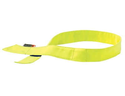 Ergodyne Chill-Its 6705FR Evaporative FR Cooling Hook Bandana-Lime
