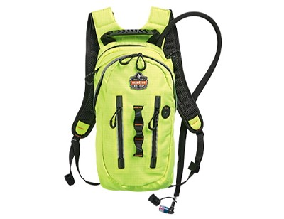 Ergodyne Chill-Its 5157 Cargo Hydration Pack 2 Liter HiVisibility Lime