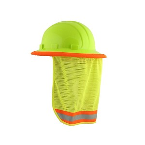ERB 19281 S268 Mesh Neck Shield - Hi Viz Lime