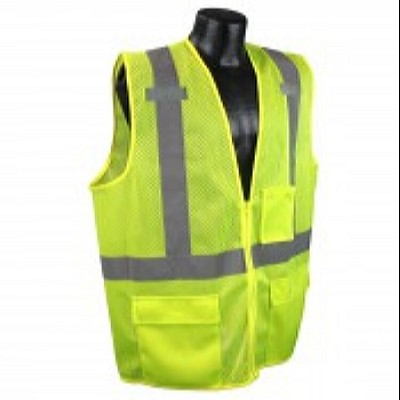Radians SV27-2ZGM Economy  Multipurpose Class 2 Surveyor Vest -Green
