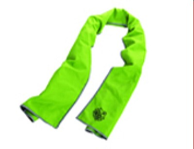 Ergodyne Chill-Its 6602MF Evaporative Microfiber Cooling Towel - Lime