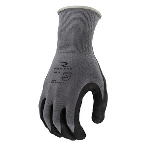 Radians RWG13 Foam Nitrile Gripper Glove Pair