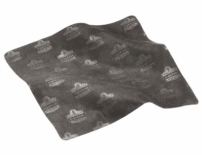 Ergodyne 19216 Microfiber Cleaning Cloth 3216 Black