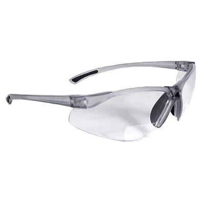 Radians C2-110 Bi-Focal Safety Eyewear Clear +1
