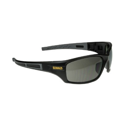 DeWALT® DPG101-2D Auger Safety Glasses - Black Frame, Smoke Lens