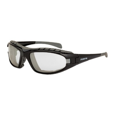 Crossfire 27615 AF Diamondback - Indoor/Outdoor Anti-Fog Lens, Shiny Black Frame