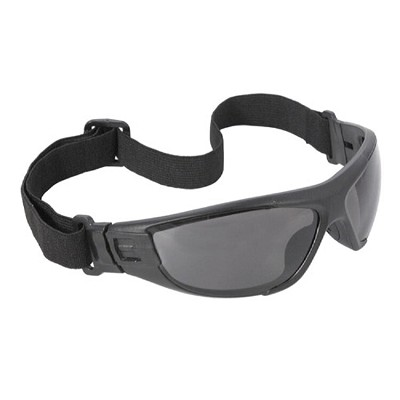Radians Cuatro 4-in-1 Foam Lined Eyewear CT1-21 Smoke Anti-Fog