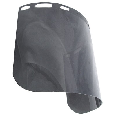 Radians V40815-5.0 Hardhat Face Shield .060 x 8 x 15 1/2 IRUV 5.0