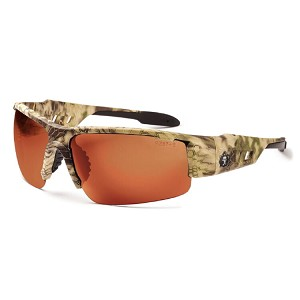 Ergodyne Skullerz DAGR Polarized Safety Glasses - Camo Kryptek Highlander Frame - Polarized Copper Lens