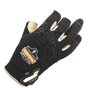 Ergodyne 720LTR Heavy-Duty Leather-Reinforced Framing Gloves