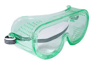 Radians Perforated Safety Goggle GGP11UID Clear Uncoated
