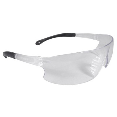 Radians Rad-Sequel Safety Eyewear RS1-10 Clear Lens, Clear Frame