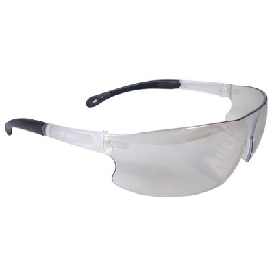 Radians Rad-Sequel Safety Eyewear RS1-90 Indoor/Outdoor Lens, Clear Frame, Clear Frame