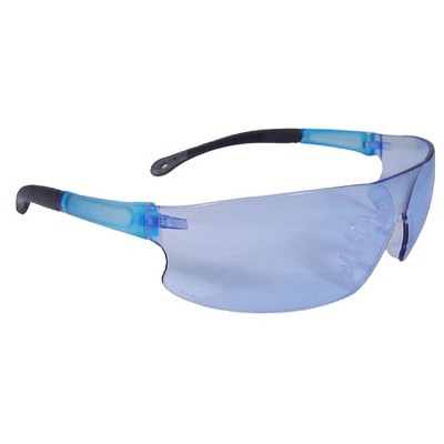 Radians Rad-Sequel Safety Eyewear RS1-B Light Blue Lens, Light Blue Frame