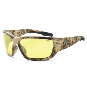 Ergodyne 57350 BALDR Skullerz® Baldr Safety Glasses - Yellow Lens