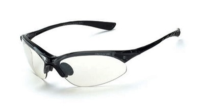 Crossfire Cobra Indoor/Outdoor Lens, Crystal Black Frame