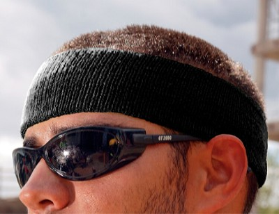 Ergodyne Chill-Its 6550 Head Sweatband - Black