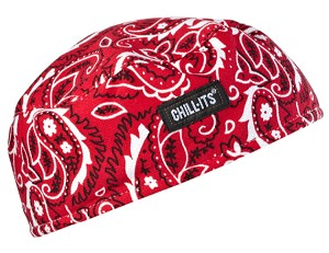 Ergodyne Chill-Its 6630 High-Performance Cap - Red/Wstern