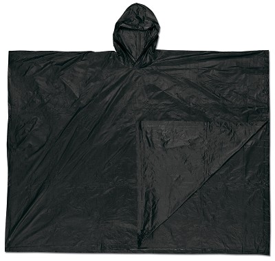 MCR River City O47 Schooner , .10mm, PVC  Disposable Poncho Black  Universal