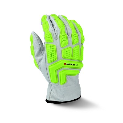 Radians RWG50 Goat Skin Leather Impact Cut A4 Safety Gloves