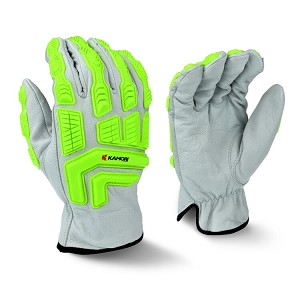 Radians RWG51 White GoatSkin Work Glove