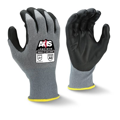 Radians RWG561 HPPE Shell Cut A2 PU Coated Work Gloves 18-Gauge