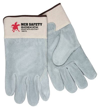 MCR Safety 16017 Cowhide Leather Heat Resistant glove