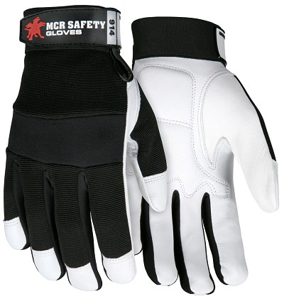 MCR Safety 914 Goatskin Leather Mechanic glove